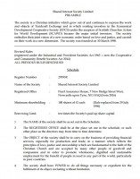 Shared Interest Society Limited Rules